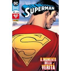 SUPERMAN 4 PANINI DC UNIVERSE